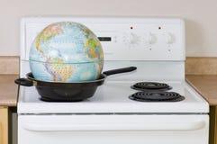 2 globalne ocieplenie Obrazy Stock