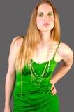 2 goldgreen Arkivfoto
