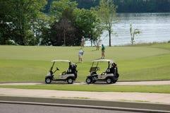 2 golf zdjęcia stock