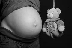 2 grávidos imagens de stock