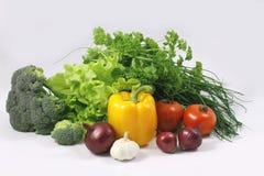 2 grönsaker Arkivfoton