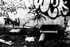 2 graffity 免版税库存照片