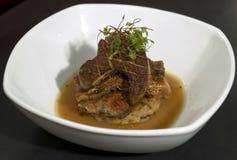 2 gras foie бекона сверх Стоковое Фото