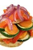 2 grillad buntgrönsak Arkivfoton