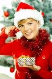 2 härliga jul Arkivfoton