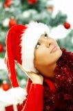 2 härliga jul Fotografering för Bildbyråer