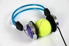 2 hörlurar Fotografering för Bildbyråer