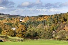 2 höst lothian västra scotland Fotografering för Bildbyråer
