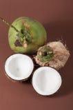 2 halfs кокоса Стоковая Фотография