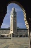2 hassan ii moské Royaltyfri Fotografi
