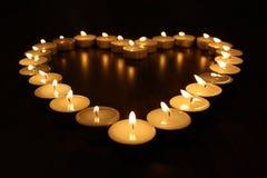 2 heartlight Zdjęcie Stock
