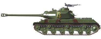 IS-2 heavy tank stock illustration