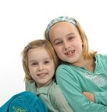 2 hermanas Imágenes de archivo libres de regalías