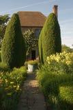 2 home poplars för guard Arkivfoto