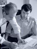2 homens de negócios Imagens de Stock