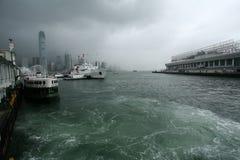 2 Hong Kong Arkivfoton