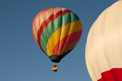 2 hot air balloons Royalty Free Stock Photo