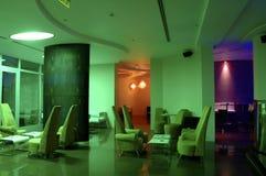 2 hoteli wnętrze Zdjęcia Royalty Free