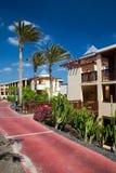 2 hotelowej wyspy obraz royalty free
