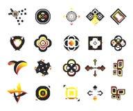 2 ikony wektorowej element Zdjęcie Stock