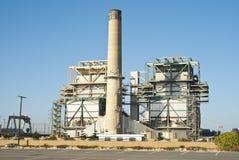 2 industriella område Arkivbilder