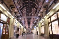 2 interior moscow shoppar Royaltyfri Fotografi