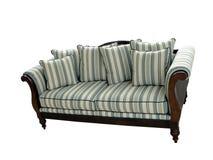 2 isolated sofa Στοκ εικόνες με δικαίωμα ελεύθερης χρήσης
