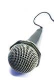 2 isolerad mikrofon Arkivfoto