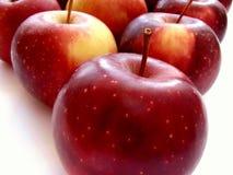 2 jabłka zdjęcia royalty free