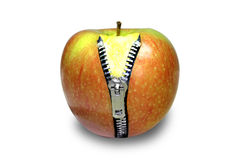 2 jabłko Zdjęcia Royalty Free