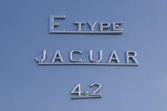 2 jaguartyp för 4 e Royaltyfri Foto