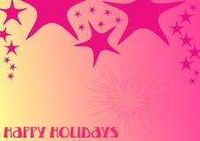 2 jaskrawy colours szczęśliwych wakacje Zdjęcia Royalty Free