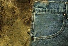 2 jeans Fotografering för Bildbyråer
