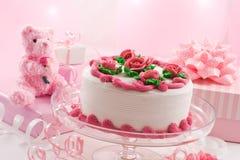 2 jej urodziny. fotografia stock