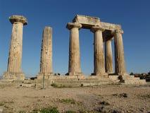 2 jest świątynia Apollo Fotografia Royalty Free