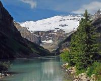 2 jezioro Alberta Canada Louise Obrazy Stock