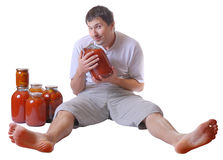 2 juicelover 免版税库存图片