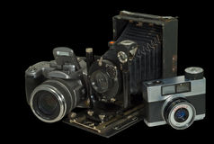 2 kamery trzy Obraz Royalty Free