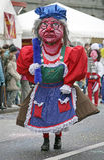 2 karnevalschweizare Royaltyfri Fotografi