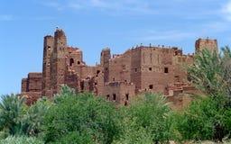 2 kasbah摩洛哥 免版税库存图片