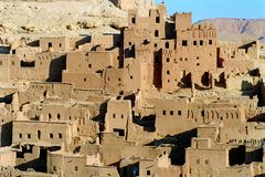2 kasbah Марокко Стоковое фото RF