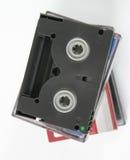 2 kasety wideo cyfrowej Zdjęcie Stock