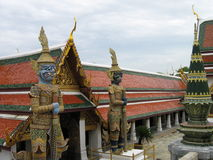 2 kawałków Thailand pałacu. Obrazy Stock