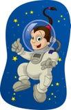 2 kid space Стоковое Изображение