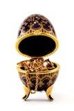 2 kist met juwelen Stock Foto's