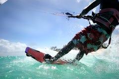 2 kitesurfer 免版税图库摄影
