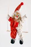 2 klaun Fotografia Royalty Free
