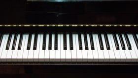 2 klawiatur pianino Obraz Royalty Free