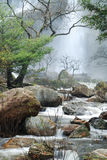 2 klong lan瀑布 库存照片