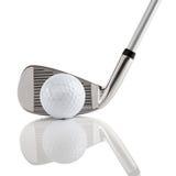 2 klubów golf Obrazy Royalty Free